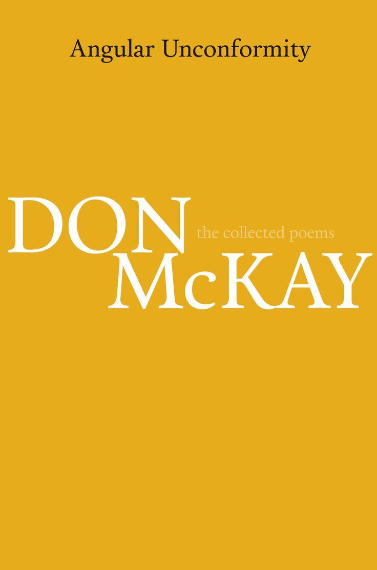 Angular Unconformity by Don McKay