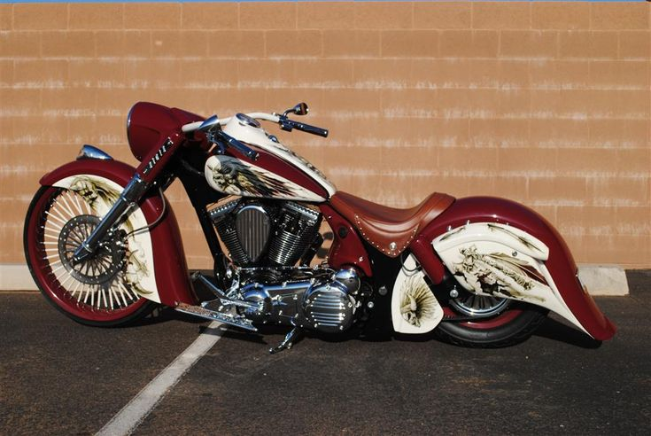 Dirty Bird Customs - Indian Motorcycle my son would love this..