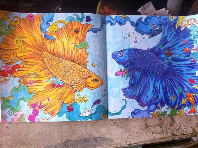 Instagram Post By Rachel Ann R Rei Unwanted Fish PaintingsColoring BooksAdult