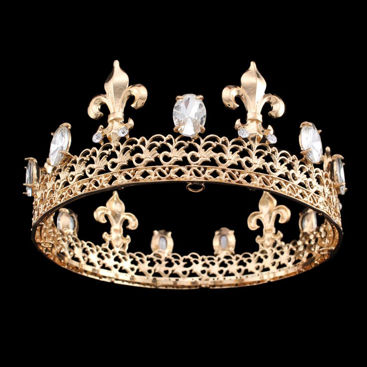 Find More Hair Jewelry Information about Men's King Crown Imperial Medieval Pageant Prom Accessories Rhinestone Irises Taria Full Round Crown,High Quality accessories equipment,China accessories bangles Suppliers, Cheap accessories clutch from nice JOJO :) on Aliexpress.com