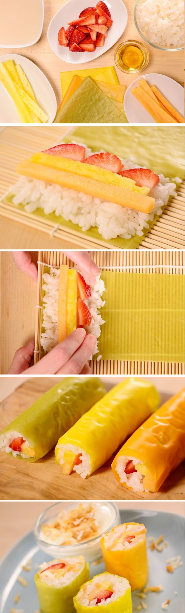 How to make Frushi- oh my god Archie would love me forever