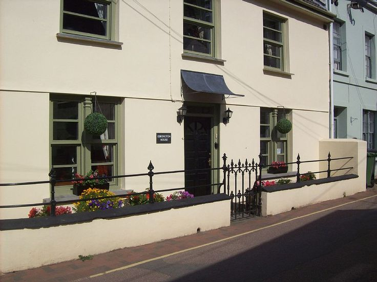 Combe Martin cottage rental - Ebrington House - view from Cross Street