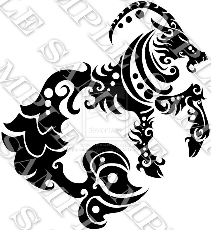 Capricorn Zodiac Tattoo Designs: 55 Best Images About Capricorn Tats On Pinterest