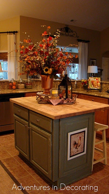 center island decorating ideas pinterest