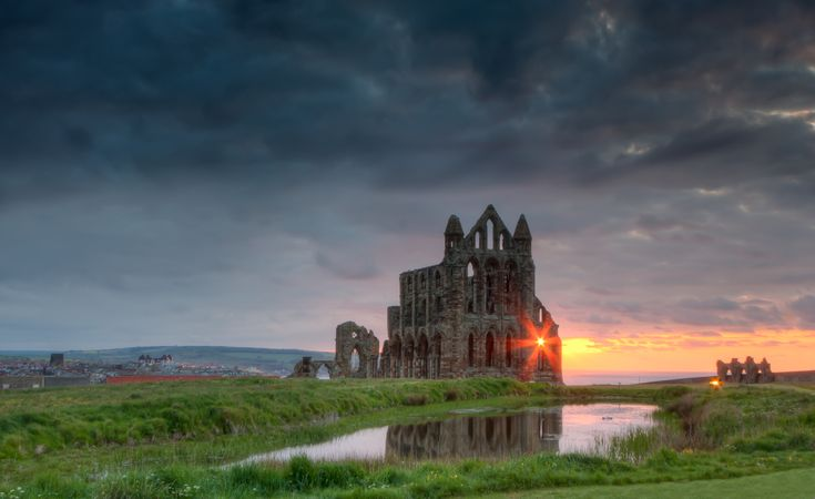 Whitby Abbey, Whitby, North Yorkshire  Find your dream UK travel and tourism job: http://www.traveljobsearch.com/uk
