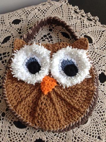 Owl purse, #GirlsOwlPurse, brown girls purse by #OnceUponARoll #teamzibbet for $18.00