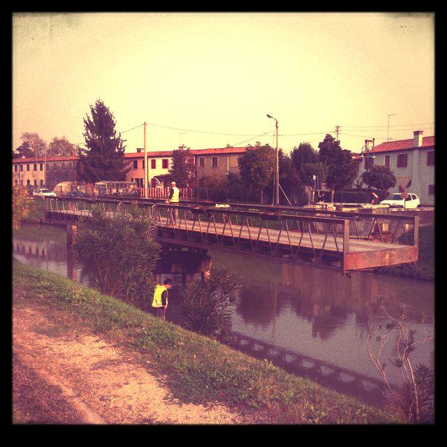 Along Brenta river