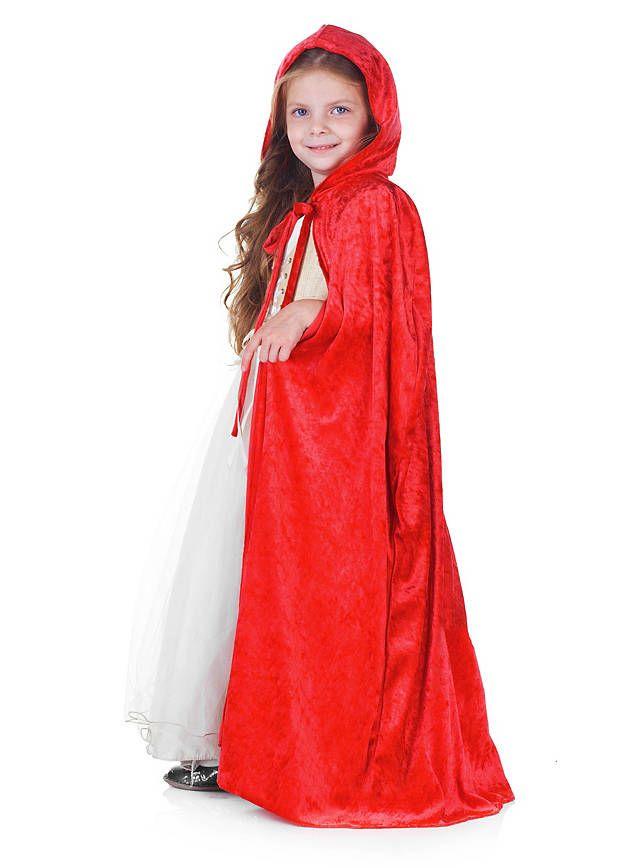 Rotkäppchen Umhang für Kinder ★ online bestellen ★ maskworld.com