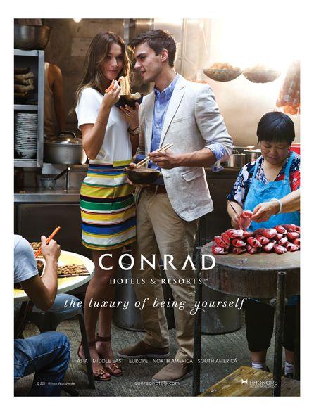 The Conrad Hotels Campaign (hotel ad)