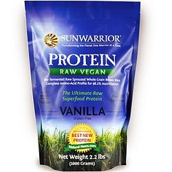 Sun Warrior Protein is my favourite vegetarian protein! Great flavour! Great mix-ability! And it's ALL natural! I've used it in a ton of my smoothie recipes which I will Pin Up sometime soon so keep posted. The Nutrition break down is great, and even though it might be on the more expensive side for some, it's worth EVERY SINGLE PENNY!