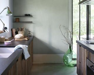 Create a soothing and serene kitchen+ colours and products
