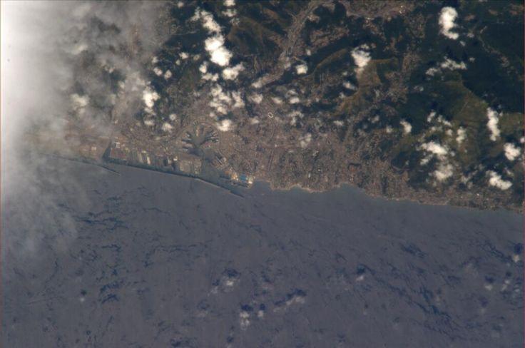 Genova dallo spazio (missione ISS)