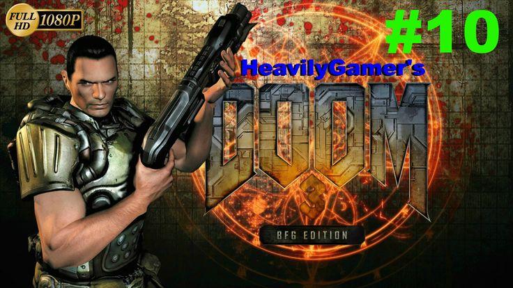 Doom 3 BFG Edition Gameplay Walkthrough (PC) Part 10:Override Airlock Co...