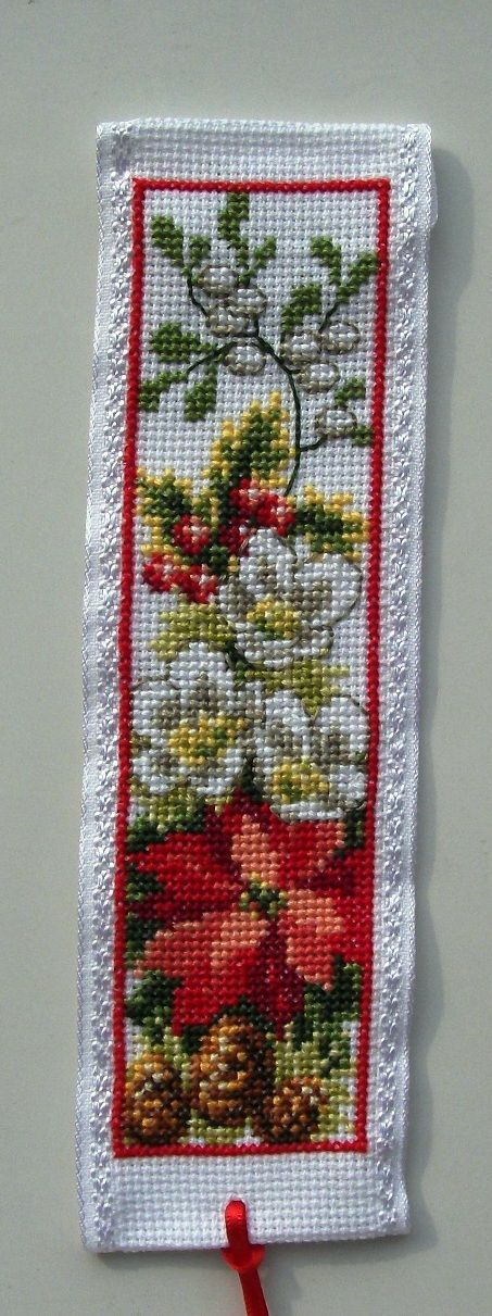 Vervaco Winter bookmark