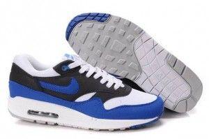 100% genuino bianche-signal,blu,antracite - scarpe nike air max 1 uomo vendita milano scontate
