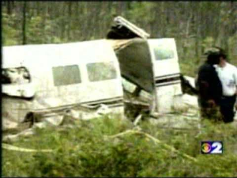 Aaliyah plane crash footage