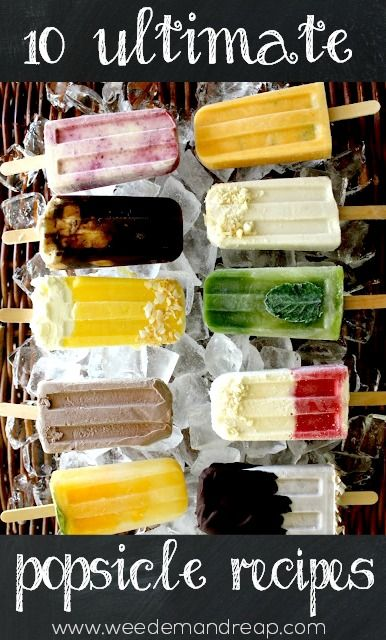 10 Ultimate Summer Popsicle Recipes! - Weed'em & Reap