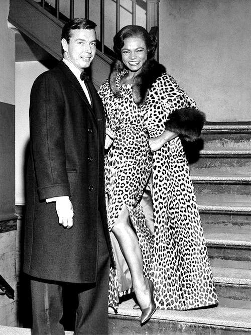 Eartha Kitt and ex-husband John William McDonald