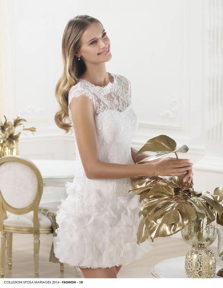 Linea fashion 2014 www.mariages.it