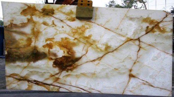 Iced Caramel Onyx. Available at Marable Slab House in Sydney #marable