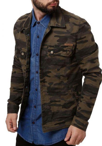 e173d5483 Jaqueta Jeans Masculina Bivik Verde Militar Bivik - Descricao do Produto  Descricao Descricao Codigo Pompeia