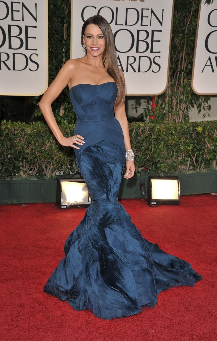 Sofia Vergara's Top Ten Red Carpet Looks