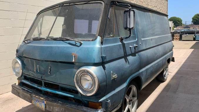 1968 Van In Goleta Ca Van Goleta Work Truck