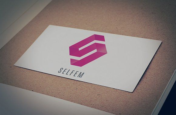 Selfem Logo Design Template by Anas' Designs on @creativemarket