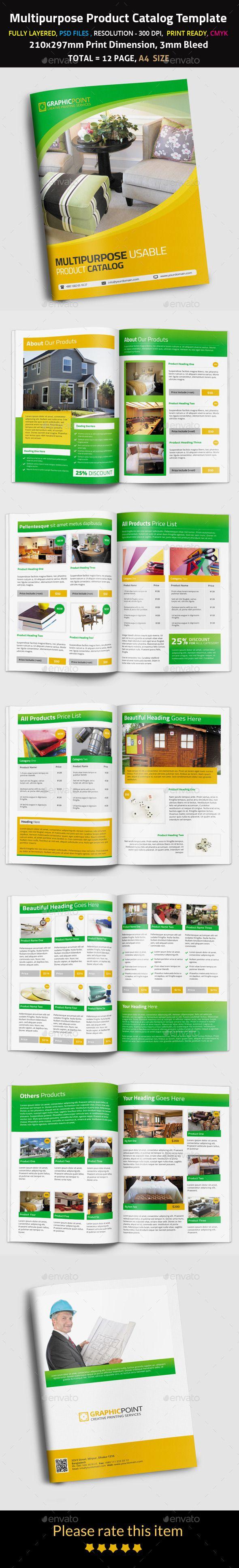 website catalog template