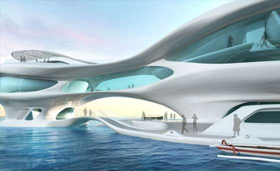 Natural Disaster Architecture - The Solus4 Marine Research Center is Inspired by Tsunami Waves Design Inspired By natural elements