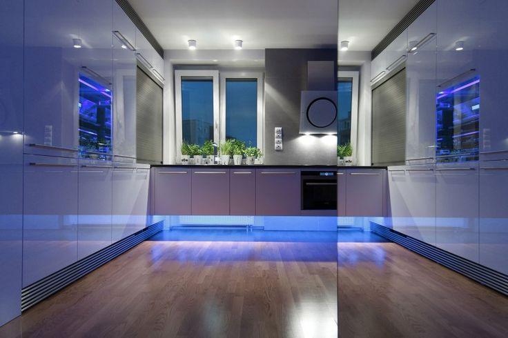 Villa kitchen: Luxury Apartment Reconstruction by RULES architekti (20)