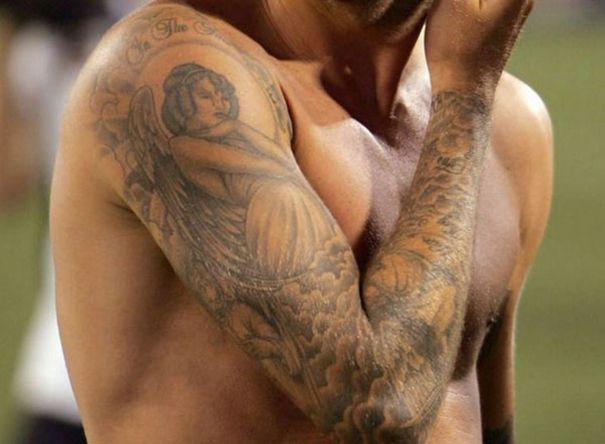 celebrity tattoos: David Beckham