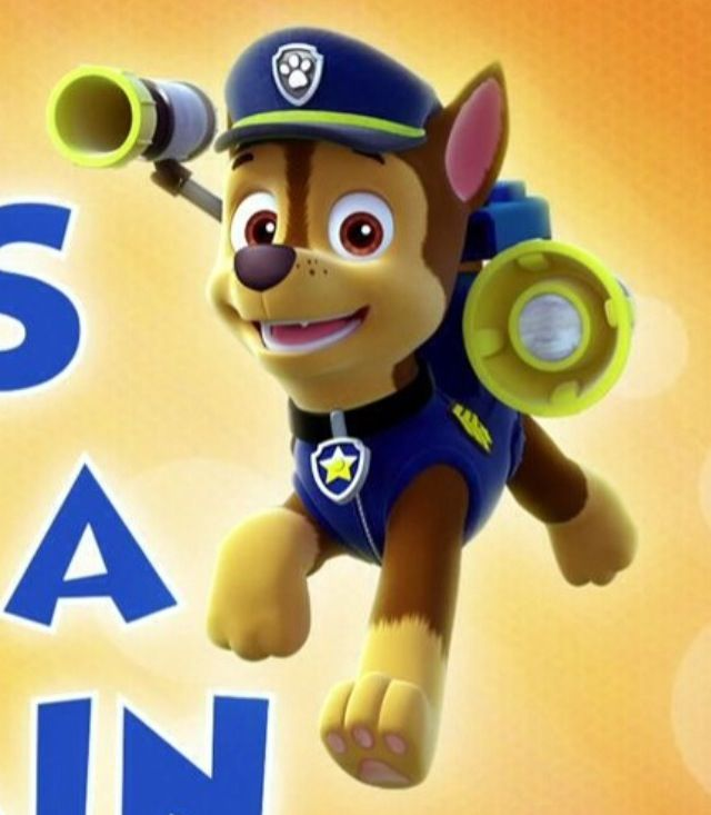 how to make paw patrol characters flat