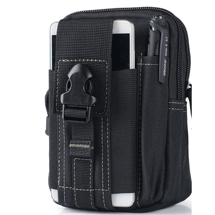 Universal Outdoor Sport Tactical Bag Molle Waist Nags 5.5/6 Inches Waterproof Phone Cases 600D Oxford Tactical Pouch