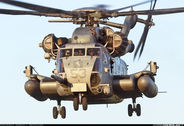 The Sikorsky CH-53E Super Stallion is the largest and heaviest helicopter in the United States military