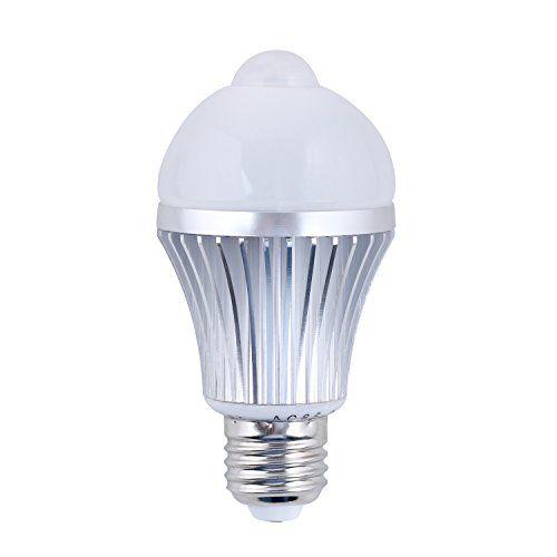 daffodil leb305s u2013 motion and light sensitive pir led light bulb u2013 automatic motion sensor activated - Motion Detector Lights