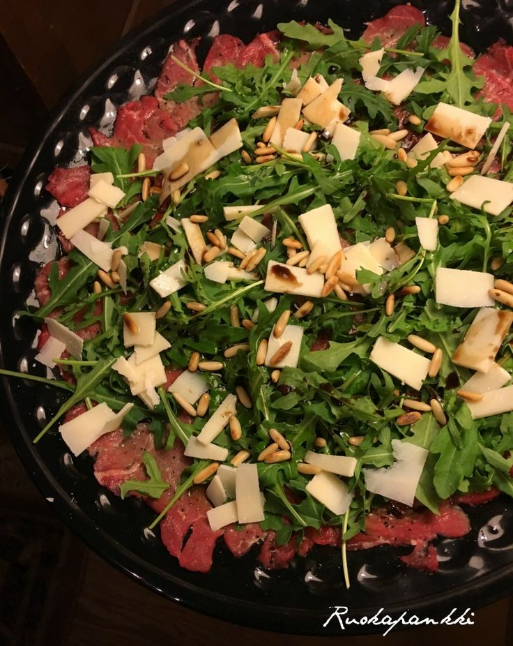 Ruokapankki: Carpaccio #carpaccio #food #ruoka #ruokablogi #foodblogger #foodie #ruokapankki #italianfood