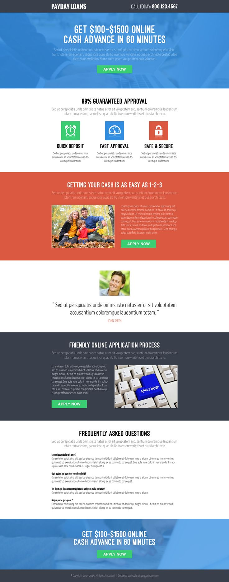 167 best payday loan landing page design images on pinterest best responsive landing page designs templates 2014 to capture leads increase conversion and boost your sales from pronofoot35fo Choice Image