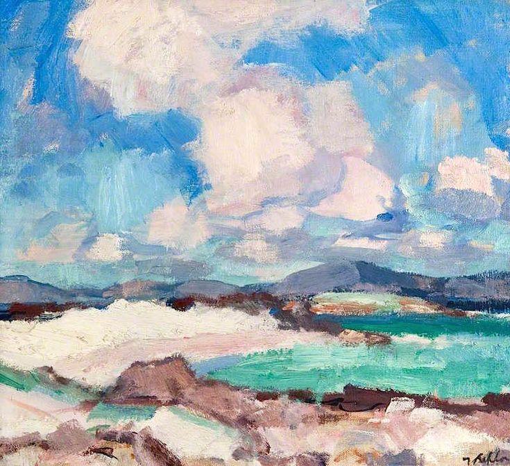 Clouds and Sky, Iona Samuel John Peploe - 1928