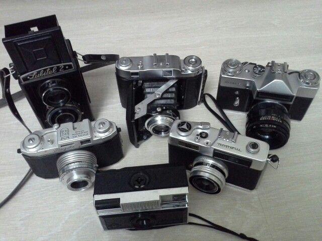 Eski Fotoğraf Makineleri
