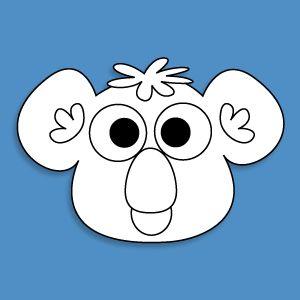 animal mask template - Buscar con Google