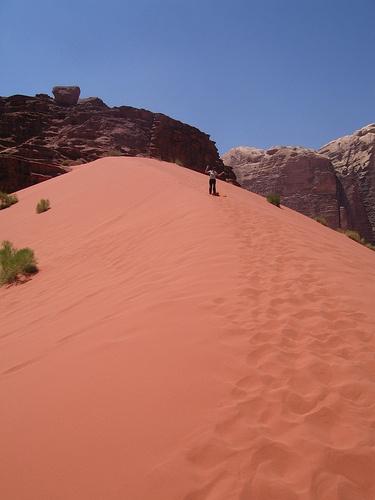 Wadi Rum, Jordan.  Photo: aniarenia, via Flickr