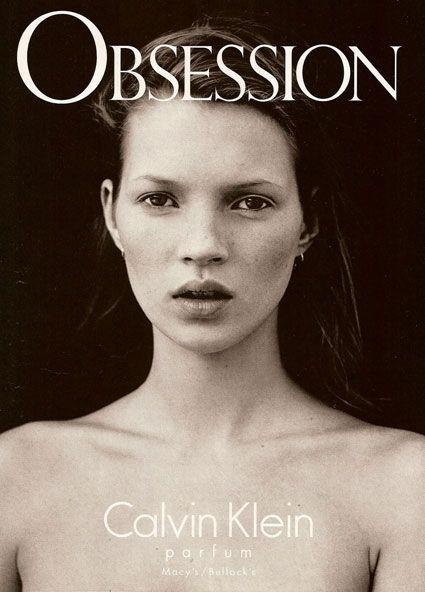 Kate Moss for Calvin Klein perfume