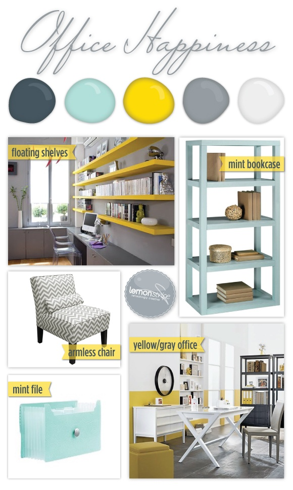 office color palette. A Yellow And Grey Color Palette With Chevron Stripes Mint Green Accents. [ Office