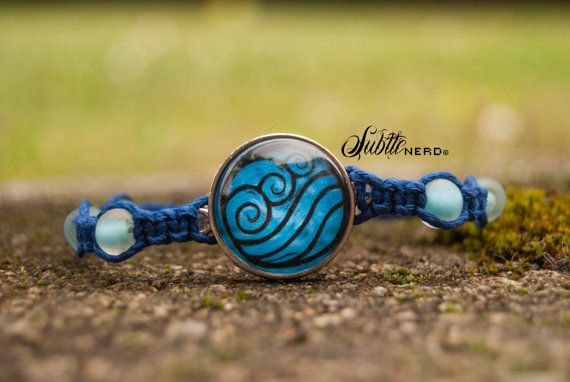 Water Tribe Bracelet from Avatar the Last Airbender by SubtleNerd, $20.00