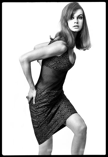 Jean Shrimpton Portrait - 1964 - The Duffy Archive