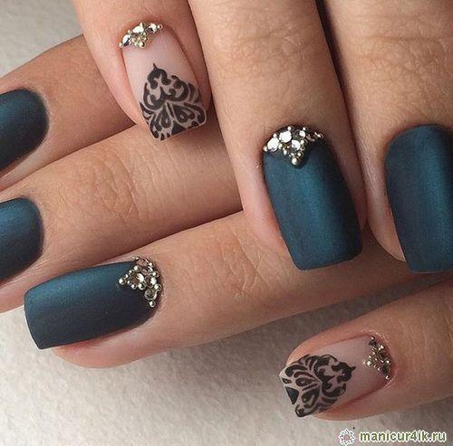 Fashionable design nail spring-summer 2016 (photo)   2015 nails ...