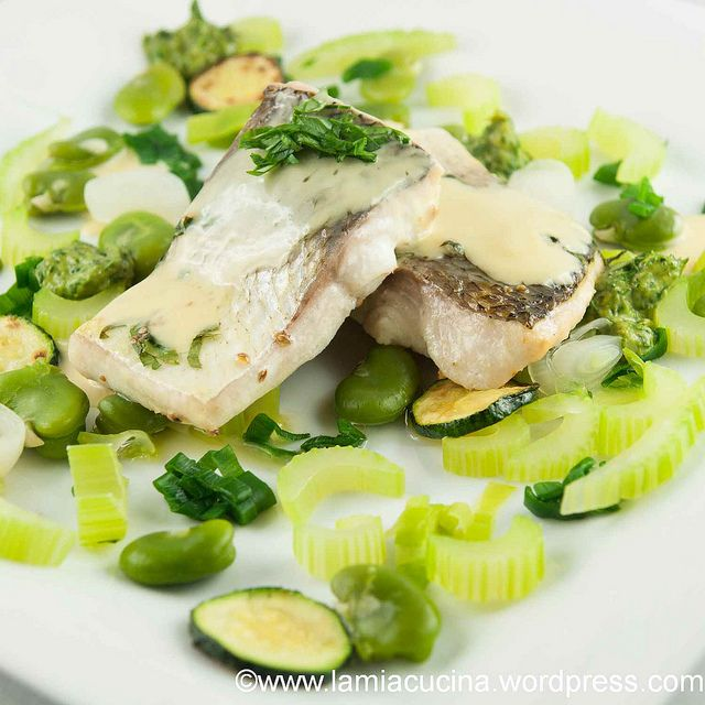 in love with lovage: lake-cisco with lemon-lovage-sauce - recipe needs ...