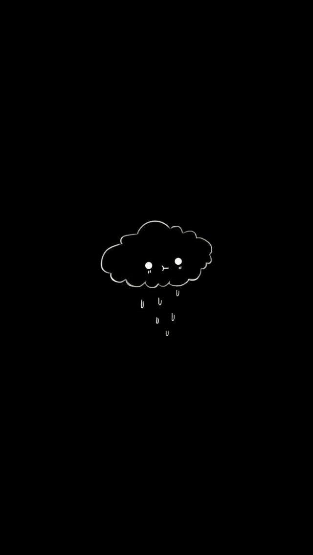 C R Y I N G C Loud In 2019 Dark Wallpaper Cute Black
