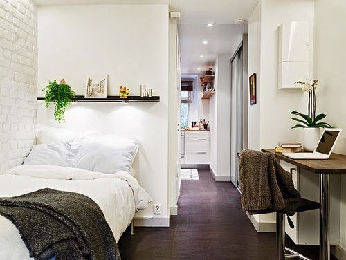 small space inspiration...I want a small NY apartment for market...